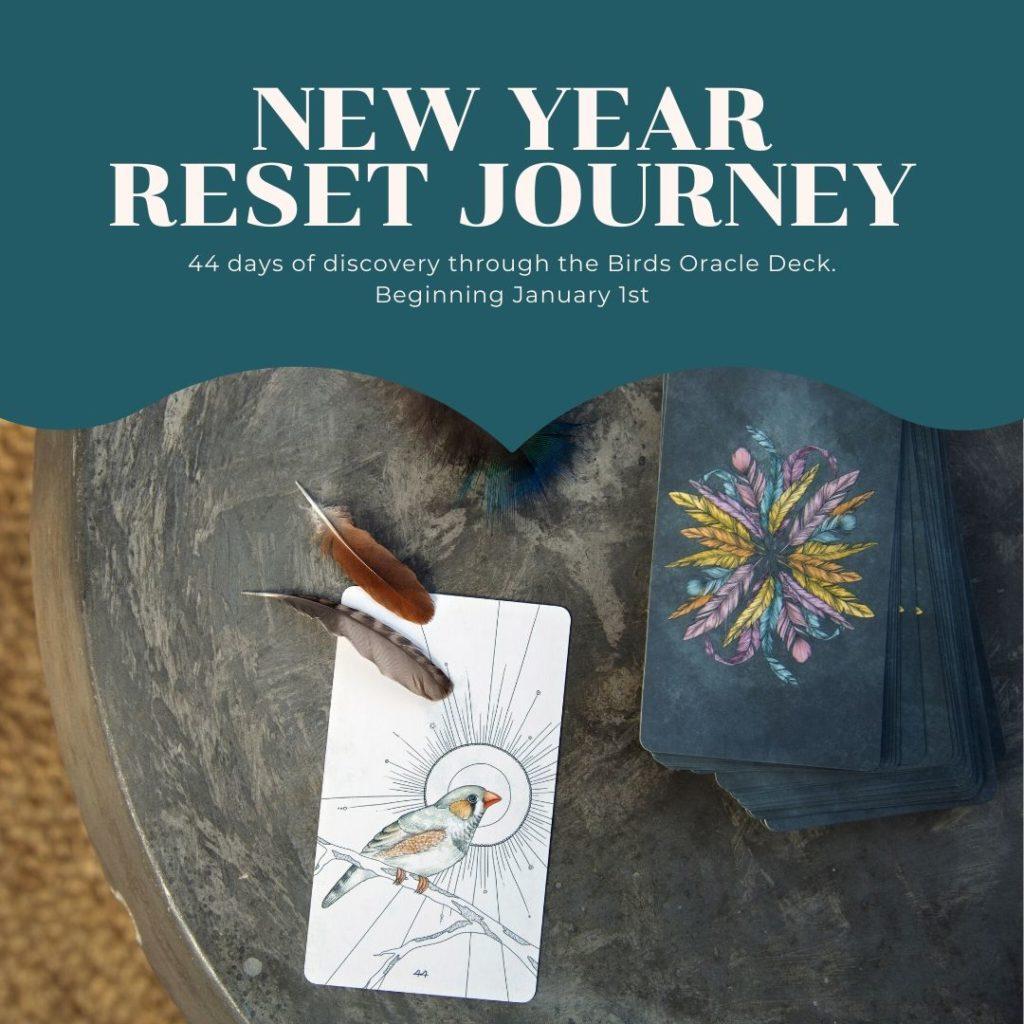 New Year Reset Journey | Birds Oracle Deck